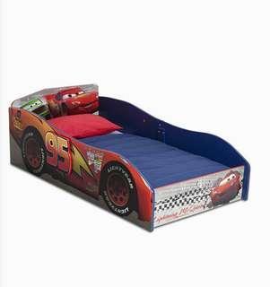 (Pre-Order) Delta Children Wood Toddler Bed, Disney/Pixar Cars