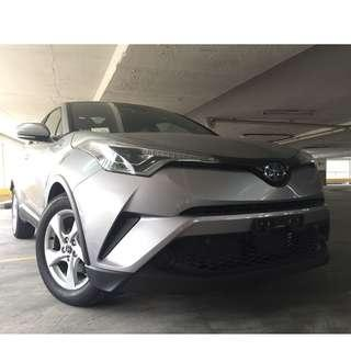 BRAND NEW TOYOTA CHR 1.8 HYBRID (personal or corporate)