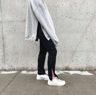 ZARA Side Slit Pants