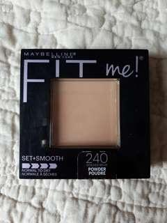 Maybelline fit me (isi 99%)