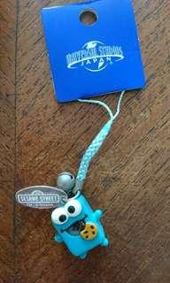 Cookie Monster Sesame Street handphone accessory