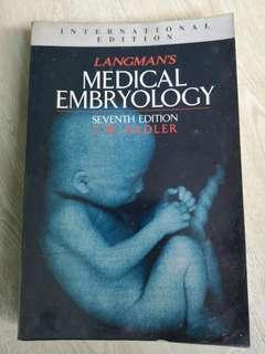 🚚 Langman's Medical embrology