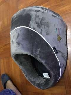 竉物窩41x35x26 cm 猫窝狗仔窩,灰色