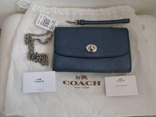 Coach💯%leather Authentic bag