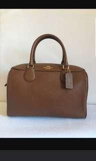 🚚 AUTHENTIC COACH MINI BENNETT IN SADDLE BROWN