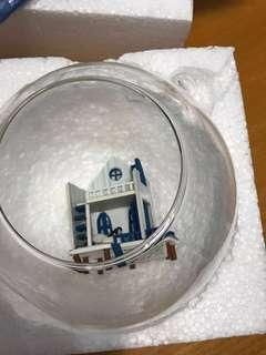 玻璃擺設模型