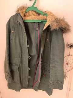 Military Green Winter Outfit