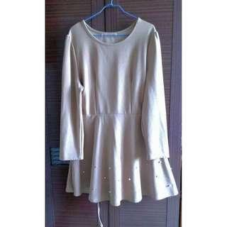 (2L)大尺碼~綁帶洋裝