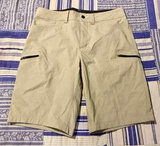 MEN'S: Zero Exposure Khaki Active Shorts