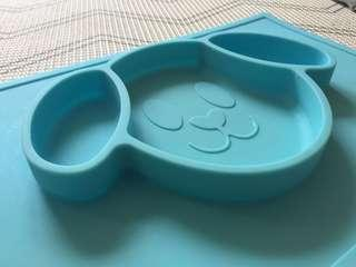 🚚 Silicone placemat for baby or toddler
