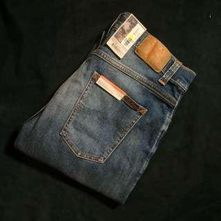 3179ce97bbf5 Nudie Jeans Dude Dan Steel Indigo