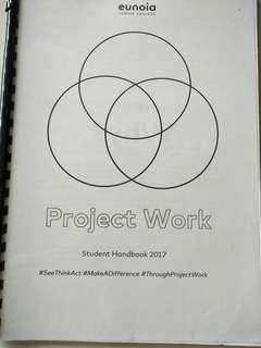 Eunoia JC Project Work Student Guide