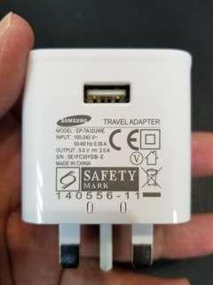 Samsung 三星 原裝 2A 火牛 充電器 Power charger Travel Adapter