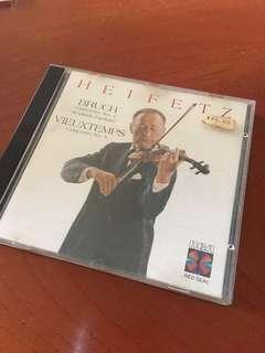 🚚 HEIFETZ bruch vieuxtemps 小提琴cd