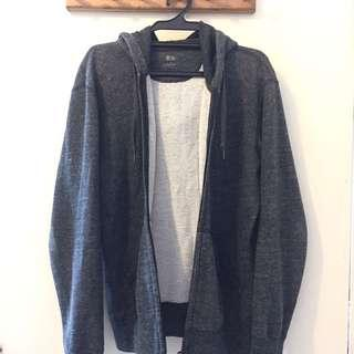 Uniqlo Sweater Jacket with Hoodie
