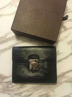 Black color LV Wallet