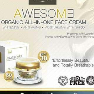 Awesome Organic All-in-one Face Cream
