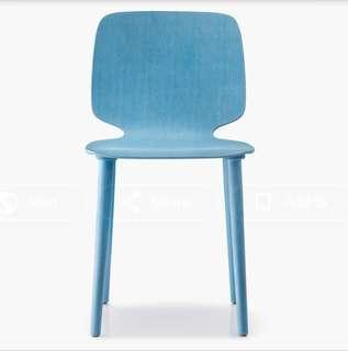 Chair Babilia 2700, Stained Ash Wood