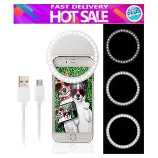 Rechargeable Selfie Ring LED Light RK-12 Smartphone Flash