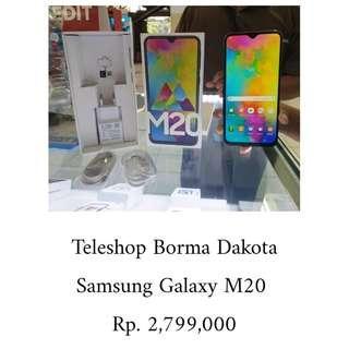Samsung Galaxy M20 bisa kredit proses cepat