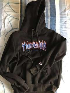 Thrasher X champion 衛衣(正品有貼紙)