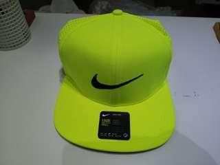 🚚 Nike golf 網帽 透氣 螢光黃