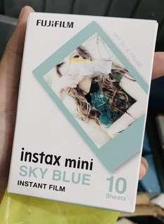Instax Mini Sky Blue!
