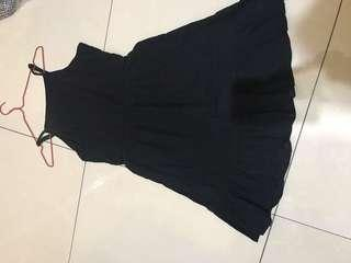 Black Jumpsuit dress pantai