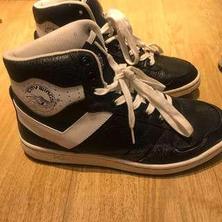 PONY high cut Sneakers- CITY WINGS (US 9)
