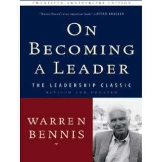 More praise for On Becoming a Leader