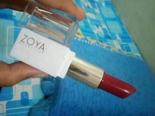Lipstick zoya shade red lava
