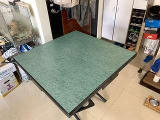 麻將桌 附四張椅子