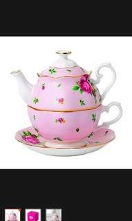 Royal Albert New Country Roses Pink Teapot For One