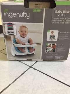 Ingenuity baby base 2 in 1 chair / high chair