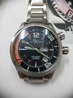 BALL watch 41.5mm ANTI-MAGNETIC 300M/1000FT