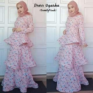 Dress uqasha viral