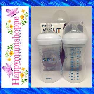 Avent Natural 9oz twinpack white