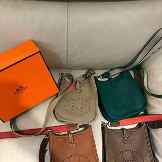 Tas Hermes Evelyn Mini Supermirror Quality