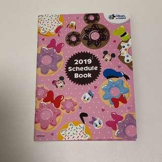 [包平郵] 2019 迪士尼 Schedule Book