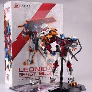 Lio Convoy Leo Prime NeoArt Toys NT-10 Leonidas Beast Muscle 🆓 post to WM