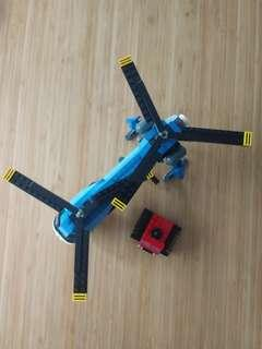 Twin Spin Helicopter Lego set 31049
