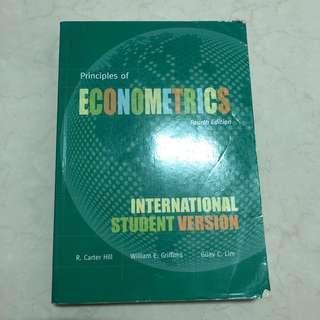 🚚 計量經濟學 原文書
