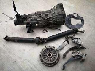 RB25DET NEO R34 GTT Manual 2WD Gearbox Complete Convertions