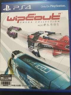 Ps4 wipeout omega collection 中文版
