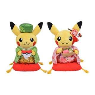 Pokemon Center 京都新店搬遷紀念產品 毛公仔 鎖匙扣 卡類 精品 接受預訂