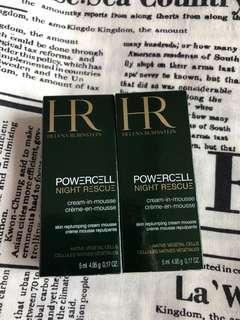 HR Helena Rubinstein cream in mousse sample