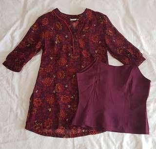 2-piece blouse