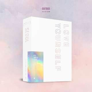 [UNSEALED] BTS - Love Yourself in Seoul Blu-ray
