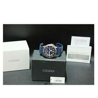 Jam tangan CITIZEN Promaster Marine Automatic NH8381-12L blue original