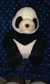 Panda stuff toy blue magic